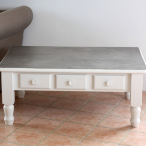 -table basse-meuble effet beton-relooking effet béton-