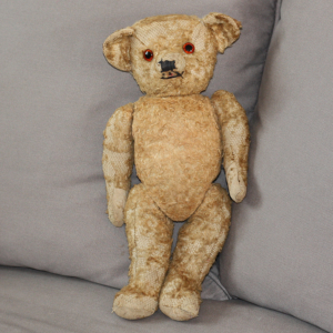 Ours peluche ancien années 1940 – Old Teddy Bear from 1940