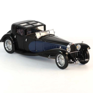 miniature auto-Bugatti Type 41 Royale Coupe Napoleon 1930-Franklin Mint- scale 1/24
