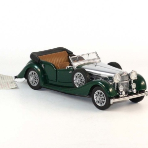 Sac de bille-Miniature auto-Alvis 4.3 Litres 1938-scale 1/24-Franklin Mint Precision Models