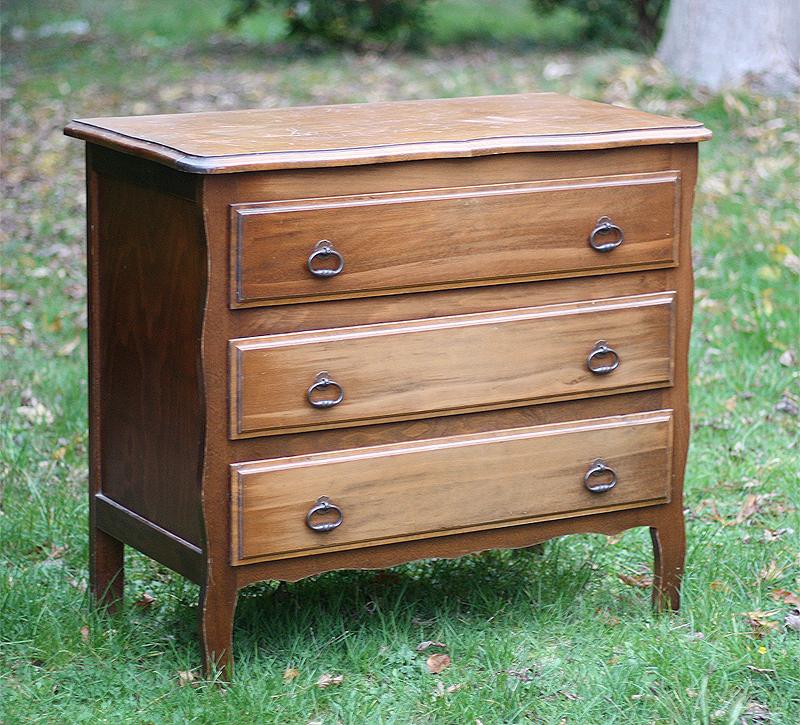 comment relooker un meuble en bois - effet béton sur bois