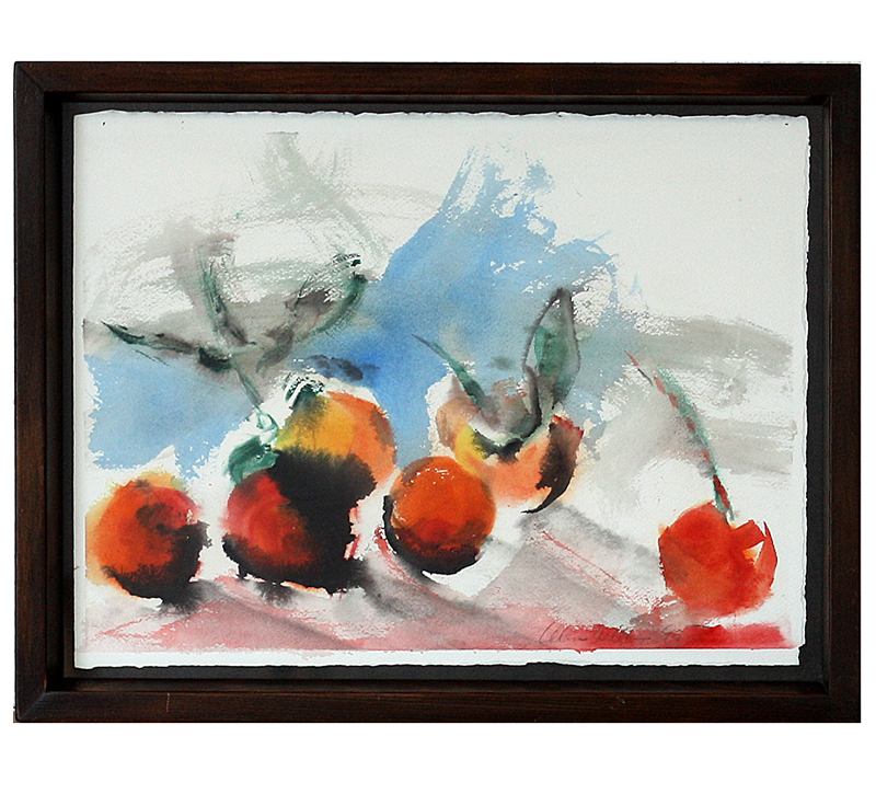 Alan Will nature morte aux fruits