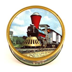 Boîte métal Train interlude rébus ORTF