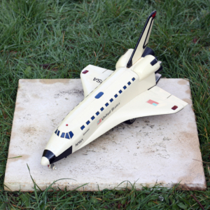Navette Columbia, jouet ancien 80's - Columbia Shuttle, 80's friction toy