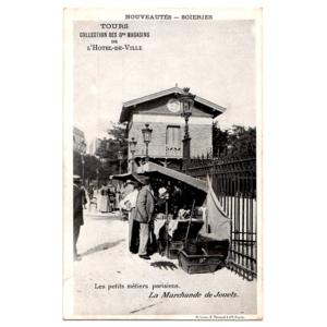Carte postale La Marchande de Jouets