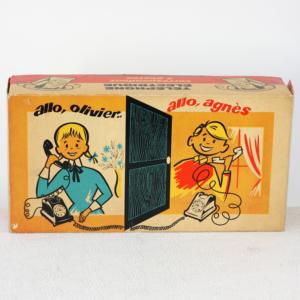 Téléphone Rolphone jouet vintage